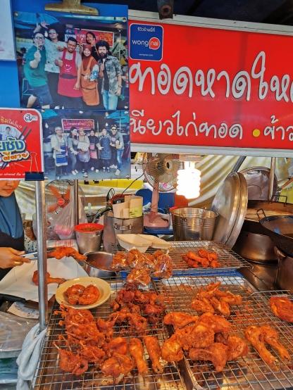 Stall ni terletak kat Morning Market, Hatyai