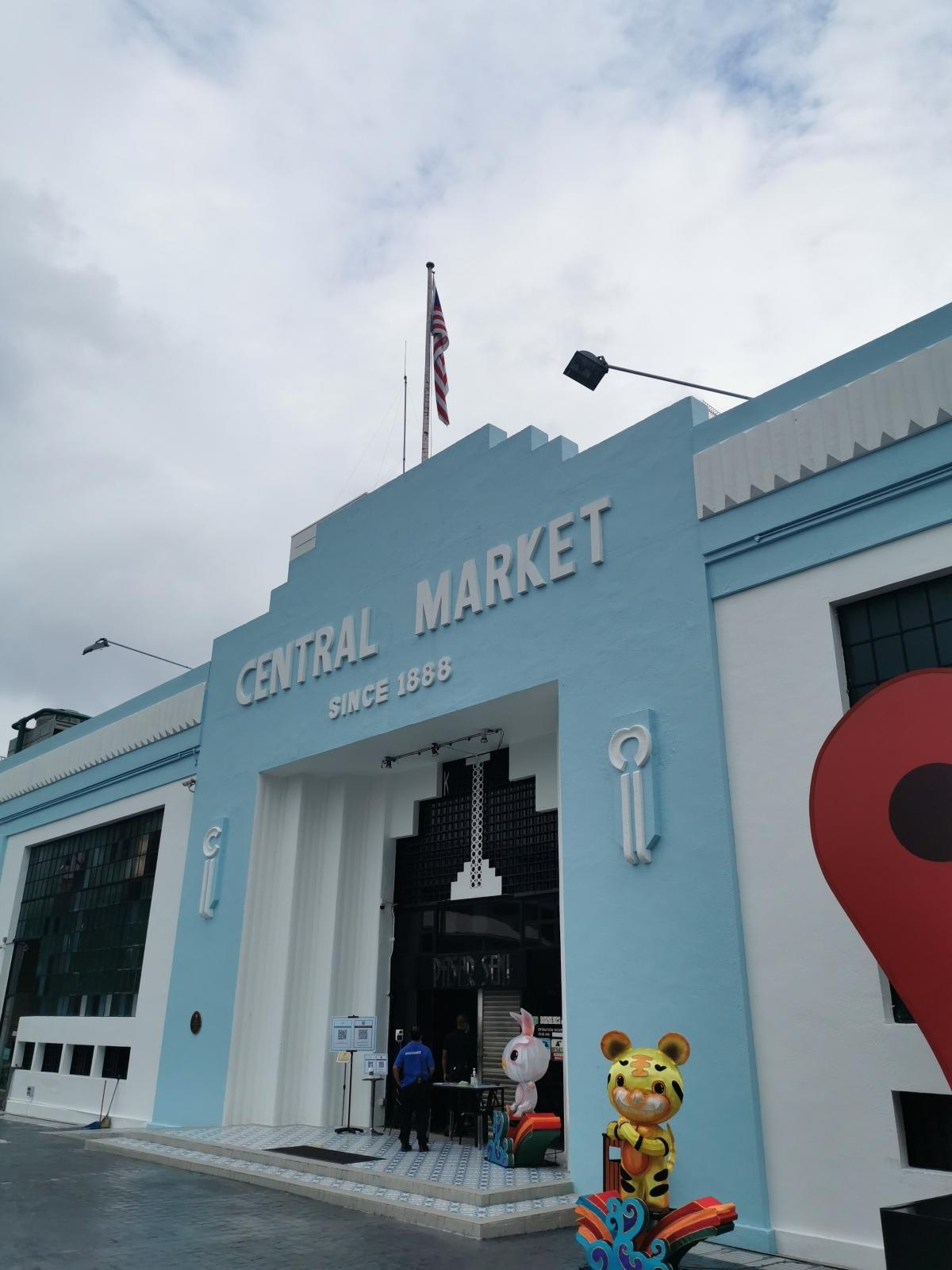 Sejarah Central Market